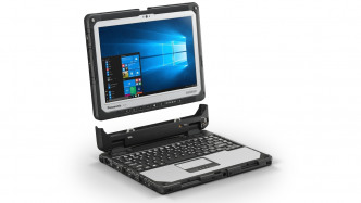 Panasonic Toughpad CF-33: Robustes 2-in-1-Notebook mit Hot-Swap-Akku und 1200-Candela-Display