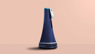 Ansprechend gestalteter Service-Roboter soll durch Büros patrouillieren