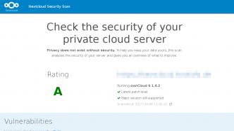 Nextcloud-Scan: Security-Prüfung für Cloud-Speicher