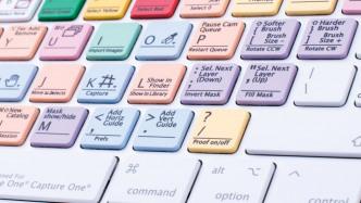 Bildbearbeitung auf Speed: LogicKeyboard für Capture One Pro