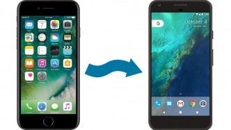 Von iOS auf Android umziehen