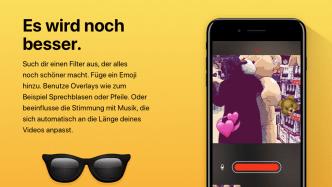 Clips-App auf dem iPad