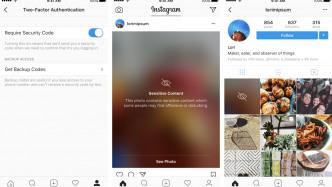 Instagram bringt Zwei-Faktor-Authentifizierung und Blur-Filter für anstößige Bilder