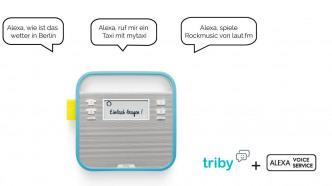 Triby Family wird mit Alexa Voice Services ausgestattet
