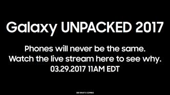 Samsung Galaxy S8: Die Vorstellung im Livestream