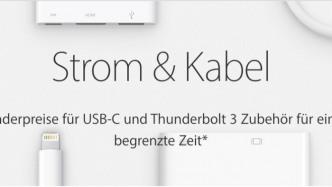 USB-C-Produkte: Apples Preisreduktion endet diese Woche