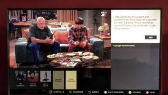Neuer TV-Dienst präsentiert Infos zum laufenden Programm
