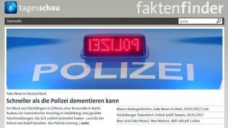 ARD will mit Faktenfinder-Portal gegen Fake News kämpfen