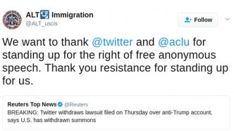 Dankes-Tweet