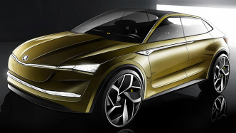 Vision E: Skoda stellt erstes vollelektrisches Auto vor