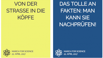 """March for Science"": Weltweite Demonstrationen für die Forschung"