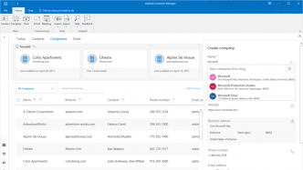 Outlook Customer Manager: Neue Funktionen und fürs iPhone