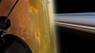 """""""Großes Finale"""": Cassini meledet sich nach Flug zwischen Saturn und Ringen"""