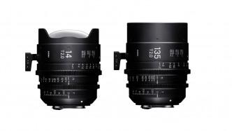 Sigma stellt Cineobjektive T2/14 mm FF und T2/135 mm FF vor