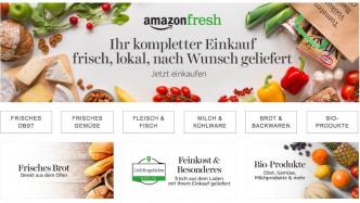 Amazon Fresh: Amazon eröffnet Online-Supermarkt in Berlin und Potsdam