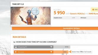 Gerüchteküche zu AMD Vega: Benchmark-Ergebnis von 3DMark Time Spy