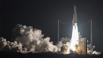 Nach wochenlanger Blockade wieder Ariane-Rakete ins All gestartet
