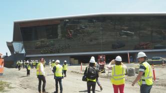 GTC 2017: Nvidias Mega-Baustelle besucht, Konkurrenz zum Apple-Raumschiff