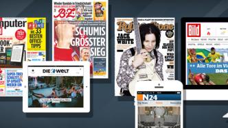 Axel Springer legt dank Online-Geschäften weiter kräftig zu