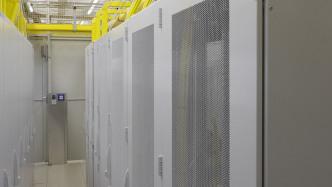 De-CIX - Racks im Rechenzentrum