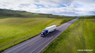 Uber vermittelt Fracht an Lastwagenfahrer in den USA