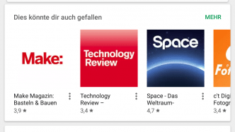 Google aktualisiert seine Kriterien um Apps im Play-Store einzustufen