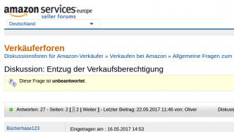 Amazon sperrt Marketplace-Händler bei winzigem Verdacht