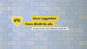 Kostenloses WLAN in fast allen Berliner U-Bahnhöfen