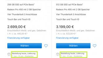 Hinweise auf neue MacBook-Proi-Modelle verdichten sich