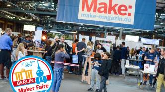 Maker Faire Berlin Ankündigung