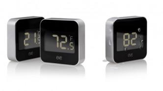 Temperatur- und Feuchtigkeitssensor mit HomeKit