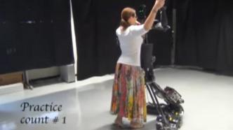 Ein Roboter als Tanzlehrer