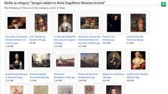 Wikipedia: Streit um gemeinfreie Bilder geht zum BGH