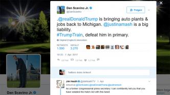 Trump-Regierung: Social-Media-Chef hat mit Tweet Gesetz gebrochen