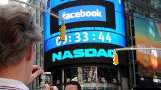 Facebook-Werbung an der Nasdaq