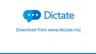 Microsoft Dictate: Freihändig schreiben dank Spracherkennung