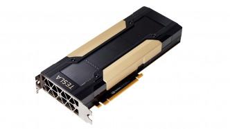 Nvidia Tesla V100: PCIe-Steckkarte mit Volta-Grafikchip und 16 GByte Speicher angekündigt