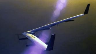 Facebooks Internet-Drohne nach zweiten Flug sicher gelandet