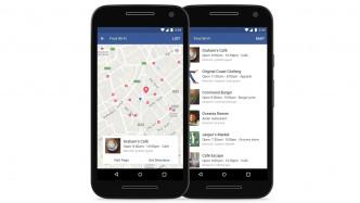Facebook-App zeigt WLAN-Hotspots in der Nähe
