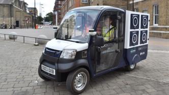 Tests mit autonomen Lebensmittel-Lieferungen in einem Teil von London