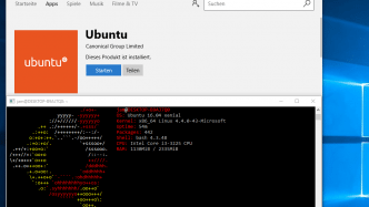 Ubuntu im Windows Store der Insider Preview