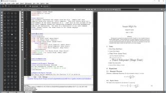 Texmaker 5.0: Neues Design, Qt5 und HiDPI-Unterstützung