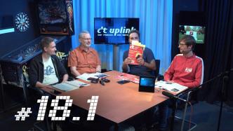 c't uplink 18.1: Amazon Echo Show, neue iMacs, GPS-Ersatz Galileo