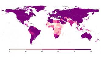 Anzahl der Internetzugänge stagniert weltweit