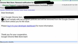 Google warnt Entwickler von Chrome-Erweiterungen vor Phishing-Mails