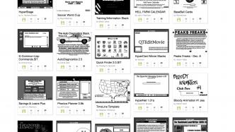 Apples HyperCard wird 30: Viele Stacks per Browser zugänglich