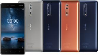 Nokia 8: Erstes Oberklasse-Smartphone vo HMD Global
