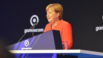 Bundeskanzlerin Merkel eröffnet die Gamescom