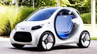 Vision EQ Fortwo: Daimlers Studie für autonomen Smart ohne Lenkrad