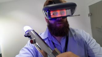 AR-Brille mit Star-Wars-App ausprobiert: Lenovo und Disney schwingen das Lichtschwert